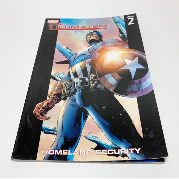 Marvel The Ultimates Homeland Security Vol 2